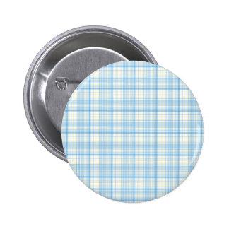Blue Plaid Buttons
