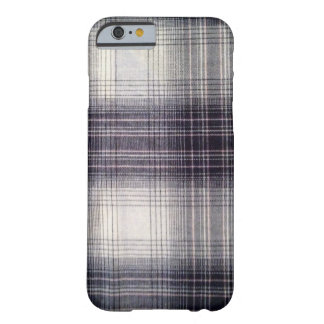 Blue plaid barely there iPhone 6 case