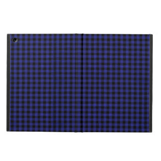 Blue Plaid IPad Case