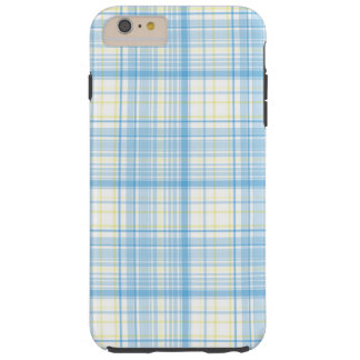 Blue Plaid - iPhone 6 Plus Case