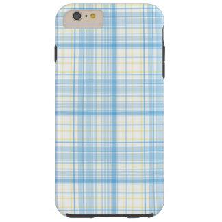 Blue Plaid - iPhone 6 Plus Case