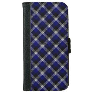 Blue Plaid iPhone 6 Wallet Case