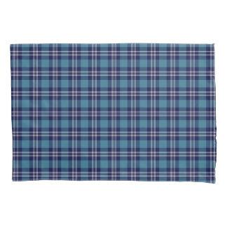 Blue Plaid Scottish St Andrews District Tartan Pillowcase