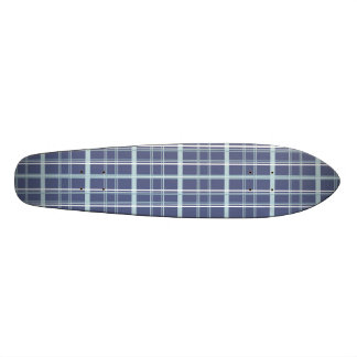 Blue Plaid Skateboard Decks
