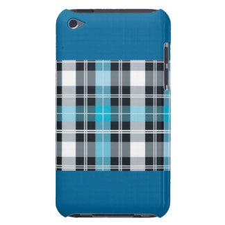 Blue Plaid Style for iPhone iPod Touch Cases