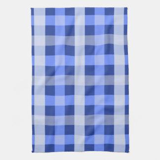 Blue Plaid Tea Towel