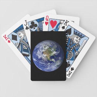 Blue Planet Earth Poker Deck