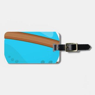 Blue Planet Luggage Tag