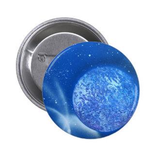 blue planet sky spacepainting pin