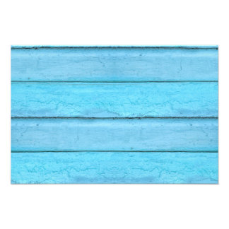 Blue Planks Art Photo