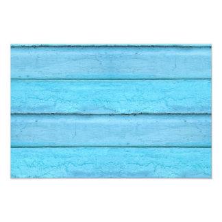 Blue Planks Art Photo