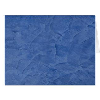 Blue Plaster Big Blank Greeting Big Greeting Card