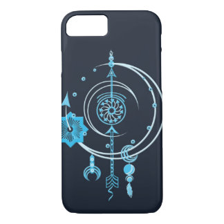 Blue Point Abstract Smartphone Case