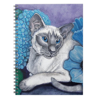 Blue Point Siamese Cat Notebook