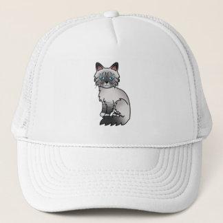 Blue Point Tabby Birman / Ragdoll Cat Trucker Hat
