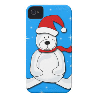 Blue polar bear Case-Mate iPhone 4 cases