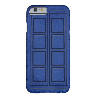 Blue Police Box Journal iPhone 6 case Barely There iPhone 6 Case