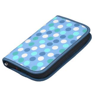 Blue Polka Dot Folio Smartphone Planner
