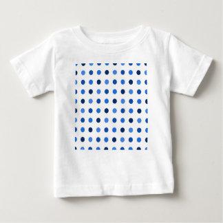 Blue Polka-dots Baby T-Shirt