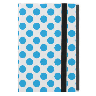 Blue Polka Dots Case For iPad Mini