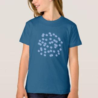 Blue Polka Dots Girls' Organic T-Shirt