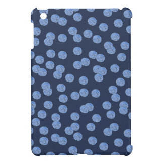 Blue Polka Dots Glossy iPad Mini Case