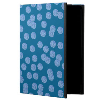 Blue Polka Dots iPad Air 2 Case with No Kickstand