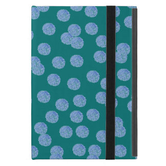 Blue Polka Dots iPad Mini Case with No Kickstand