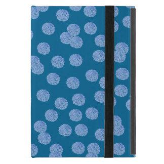 Blue Polka Dots iPad Mini Case with No Kickstand