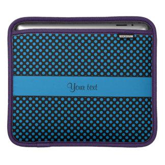 Blue Polka Dots iPad Sleeve
