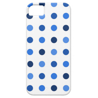 Blue Polka-dots iPhone 5 Case