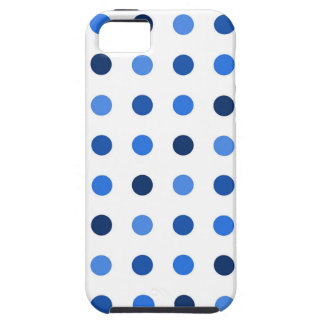 Blue Polka-dots iPhone 5 Cover