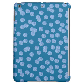 Blue Polka Dots Matte iPad Air Case