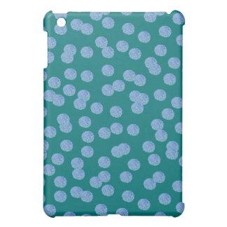 Blue Polka Dots Matte iPad Mini Case