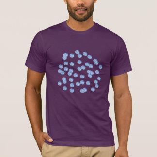 Blue Polka Dots Men's Classic T-Shirt