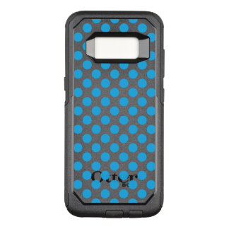 Blue Polka Dots OtterBox Commuter Samsung Galaxy S8 Case