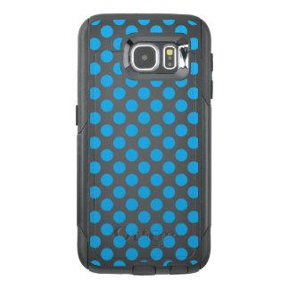 Blue Polka Dots OtterBox Samsung Galaxy S6 Case