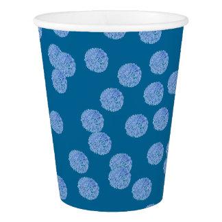 Blue Polka Dots Paper Cup