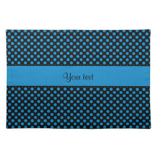 Blue Polka Dots Placemat
