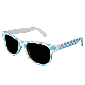 Blue Polka Dots Sunglasses