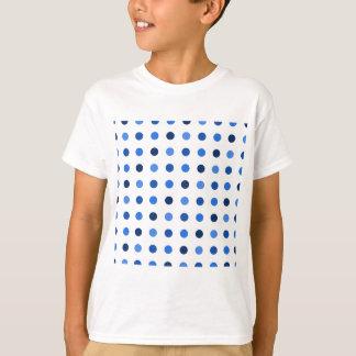 Blue Polka-dots T-Shirt