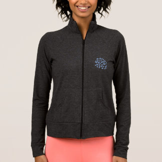 Blue Polka Dots Women's Practice Jacket