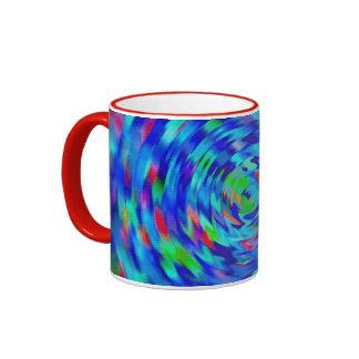 Blue Pond Ripple Coffee Mugs
