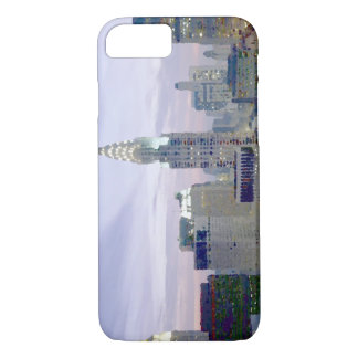 Blue Pop Art New York City iPhone 7 Case