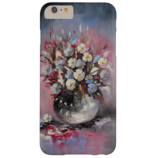 Blue poppies barely there iPhone 6 plus case