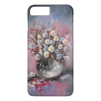 Blue poppies iPhone 7 plus case