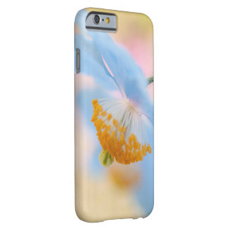Blue poppy barely there iPhone 6 case