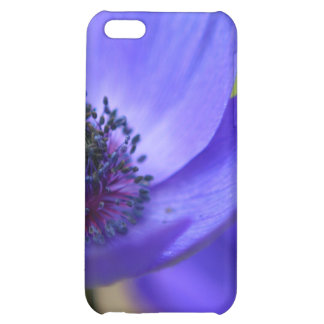 Blue Poppy Flower iPhone 5C Case