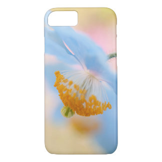 Blue poppy iPhone 7 case