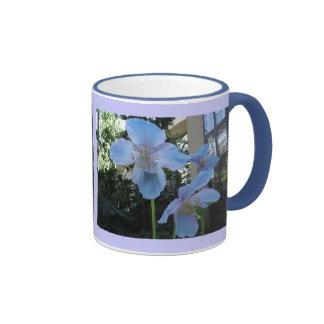 Blue Poppy Mug